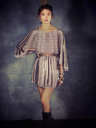 dress sequin dress evening dress metallic dress