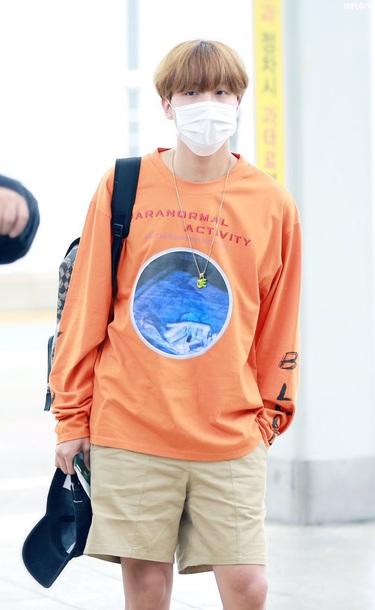 sweater jhope bts jhope bts orange