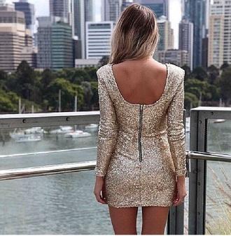 dress gold sequin dress holiday dress