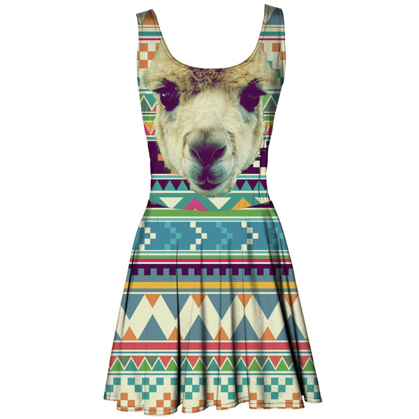 Alpaca circle dress | Mr. GUGU & Miss GO