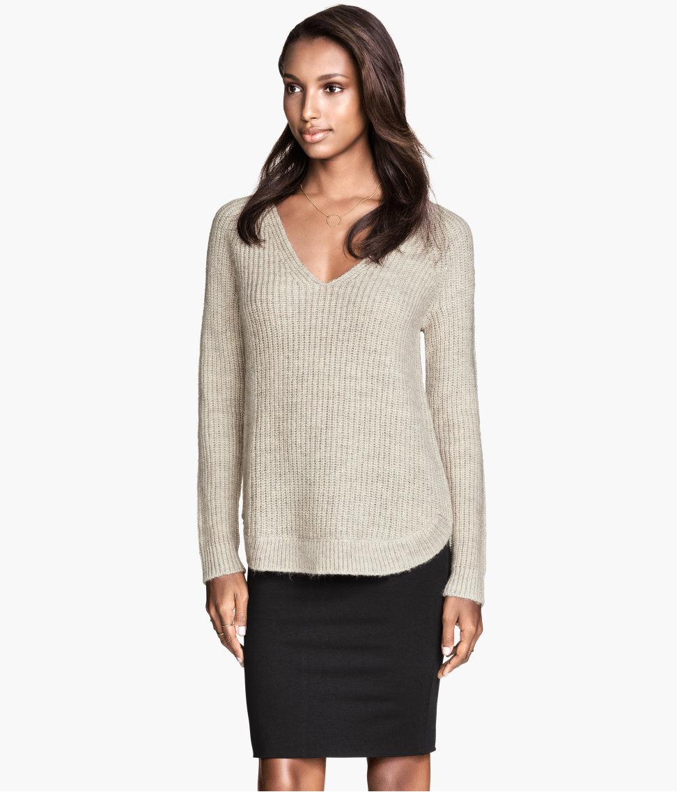 Knit sweater $29.95