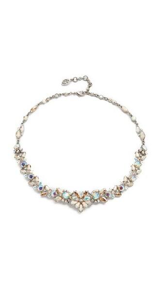 iridescent statement necklace statement necklace jewels
