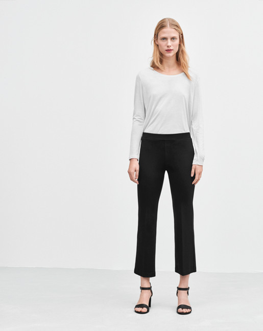 Cropped Pull-on Pants - Filippa K