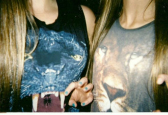 shirt t-shirt animal panther lion