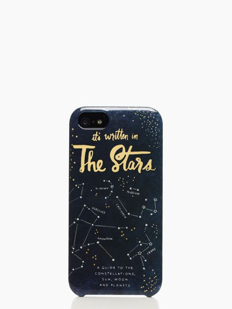 it's written in the stars iphone 5 case - kate spade new york