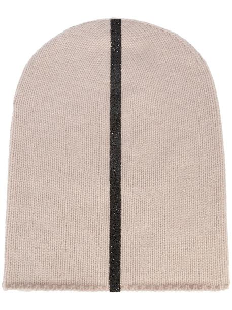 Warm-Me women beanie nude hat