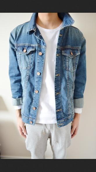 jacket denim jacket menswear menswear denim