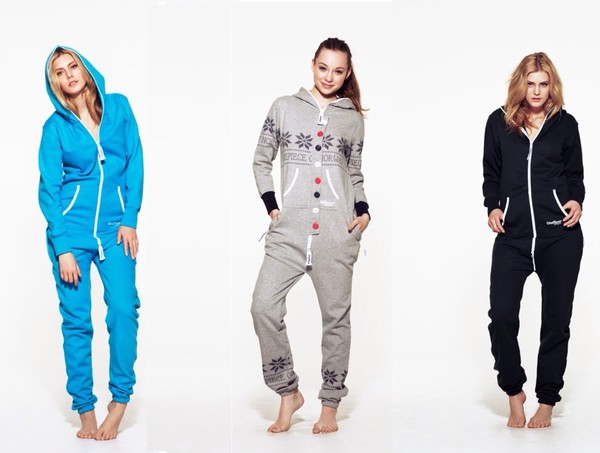 sweater blue onesie grey onesie