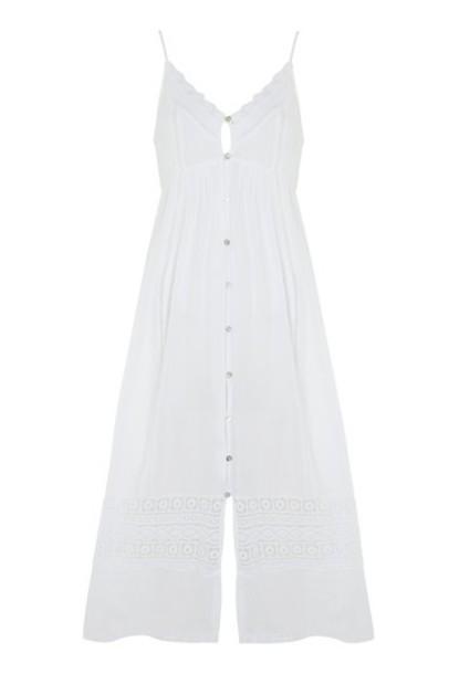Topshop dress lace white