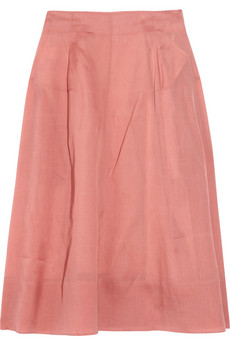 Marni Silk-organza skirt - 75% Off Now at THE OUTNET