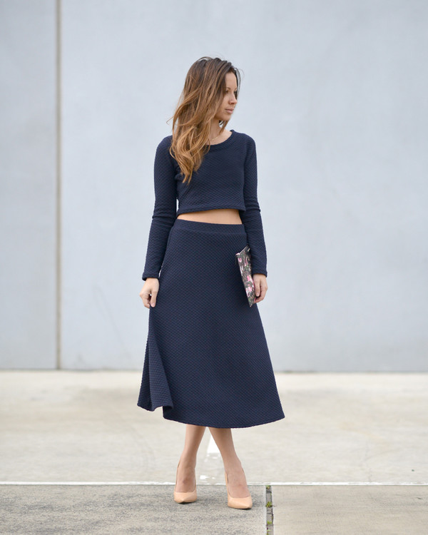 friend in fashion top skirt bag