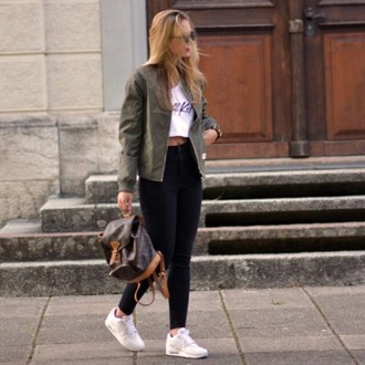 jacket vest veste khaki kaki bomber jacket bomber jacket nice pretty beautiful fashion style mode nike air max white white nikes louis vuitton bag louis vuitton bag