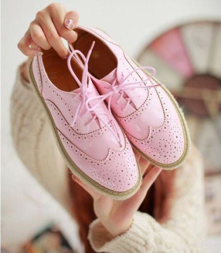 Womens High Top Oxford Shoes