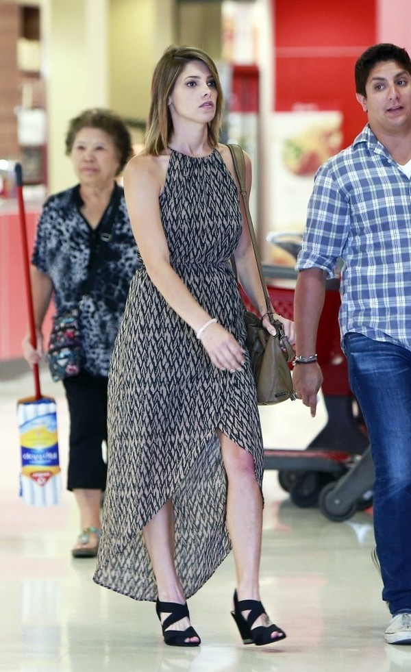 dress maxi dress ashley greene shoes