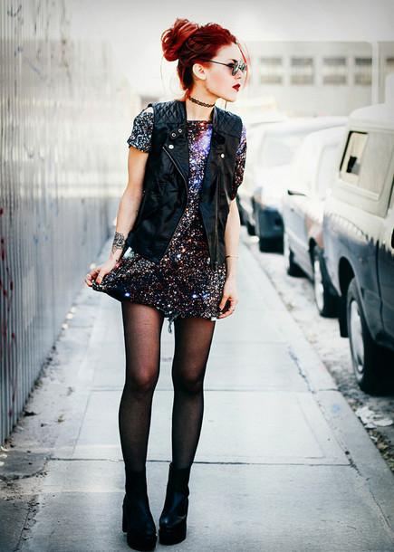 le happy jacket shorts shirt shoes dress galaxy print fashion outfils galaxy dress