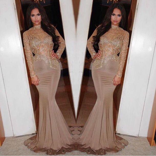 Sequin Dress Prom Dress Long Dress Long Prom Dress