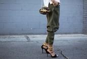 pants,khaki pants,khaki,belt pants,stylish,green,military style,woman sweatpants,olive green,jeans,straight pants,large size pants
