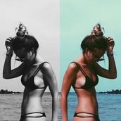 swimwear,black,bikini,triangle,cut-out