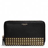 Coach :: LEGACY CONTINENTAL ZIP WALLET  IN STUDDED LEATHER