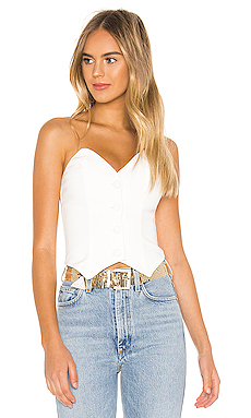 NBD Mikah Top in Star White from Revolve.com