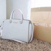 bag,purse,handles,white,michael kors