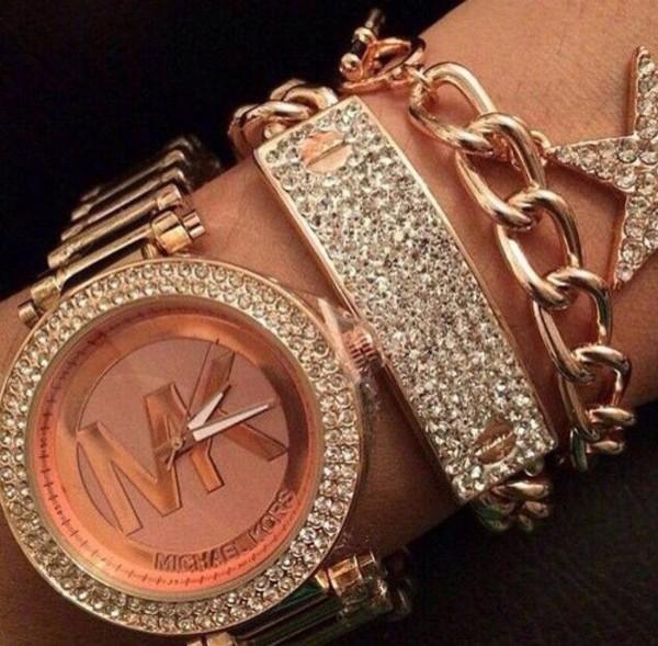 11fa17254c95 Parker Pavé Rose Gold-Tone Watch