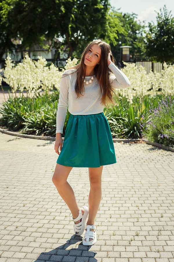 iemmafashion shirt skirt jewels shoes