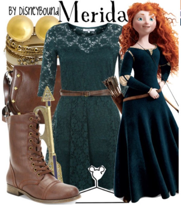 dress disney merida brave