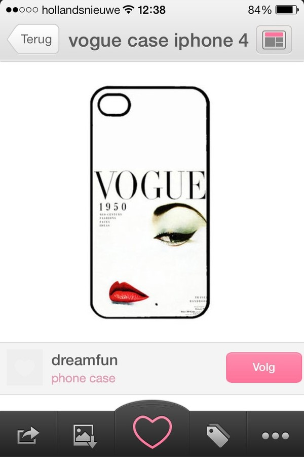 jewels iphone 4 case vogue