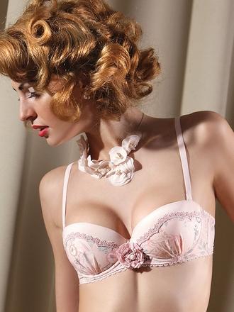 Pink dream lingerie bra