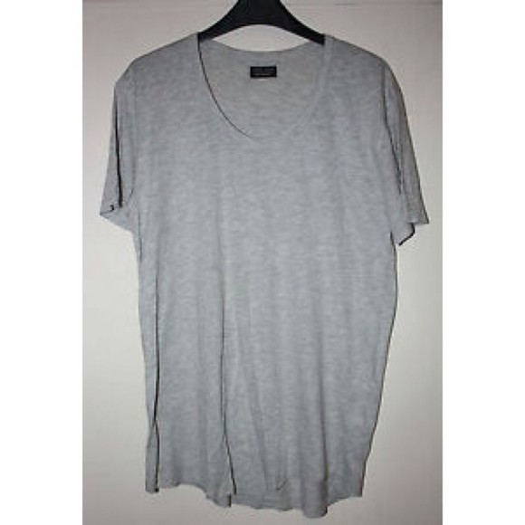 shirt grey plain top gray shirt grey shirt