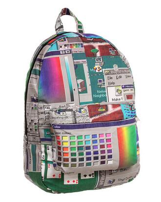 bag backpack windows vaporwave aesthetic aesthetic vaporwave tumblr tumblr aesthetic aesthetic aesthetic tumblr aesthetic bag aesthetic backpack cool cool backpack cool bag 90s backpack 90s bag school bag 90s style