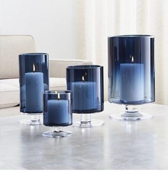 home accessory blue home decor candle candle decor