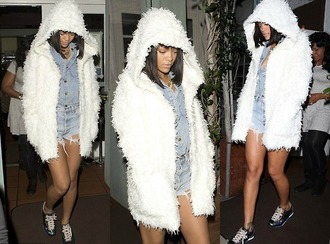 cardigan white white cardigan rihanna rihanna style 2014 fashion unique