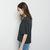ACNE STUDIOS | Faye Oversized V-Neck | La Garçonne