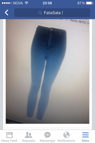 jeans denim jeggings ombre ombre jeans high waisted jeans high waisted denim pants cute fashion
