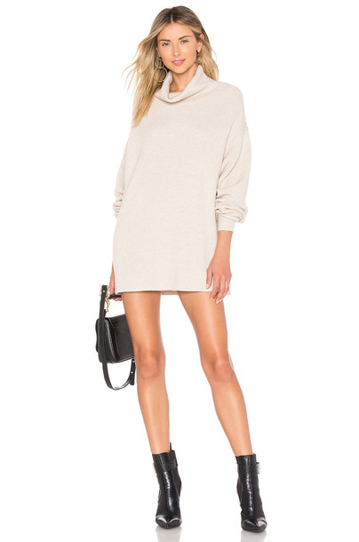 Free People Softly Structured Tunic in beige / beige