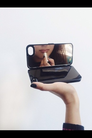 iphone case jewels mirror