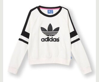 jacket black and white adidas sweater adidas white black black sweater adidas logo white sweater adidas sweater white black usa sweatshirt