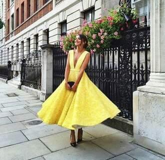 dress prom yellow dress prom dress