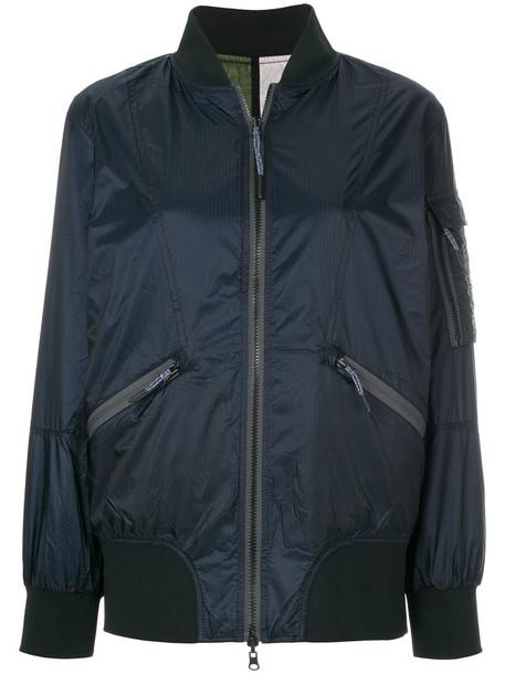 Diesel - bomber jacket - women - Nylon/Polyester - M, Blue, Nylon/Polyester