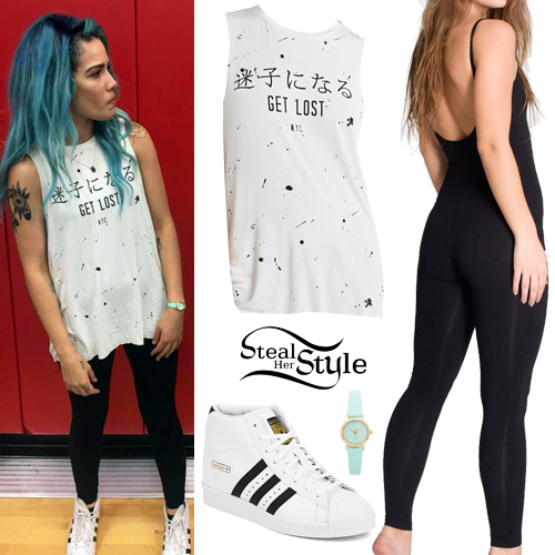 Halsey Clothes Outfits Steal Her Style