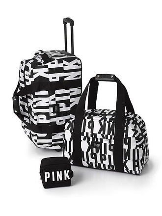 bag victoria's secret style swag travel bag travel pink by victorias secret weekend escape