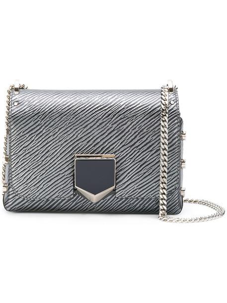 Jimmy Choo women bag shoulder bag leather grey