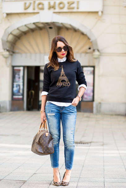 cashmere in style sweater shirt jeans bag shoes sunglasses