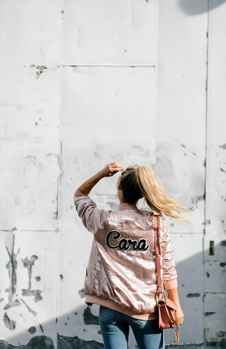 jacket tumblr embroidered embroidered jacket pink jacket pink bomber jacket bomber jacket customized