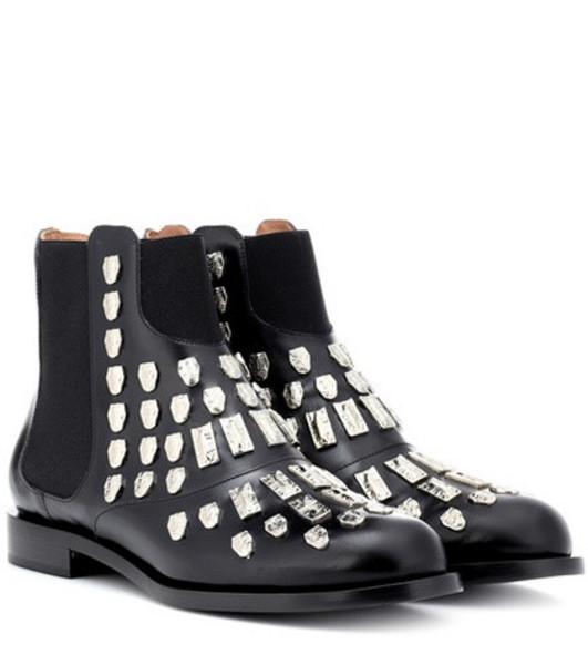 Samuele Failli Maya leather Chelsea boots in black