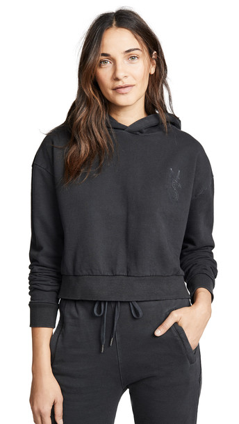 hoodie cropped hoodie cropped dollar black sweater