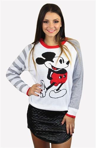 Mickey jumper grey