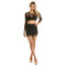 Anabel two-piece in black – noodz boutique